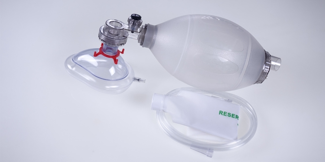 Manual Resuscitator SEBS Ambu Bag Natural White