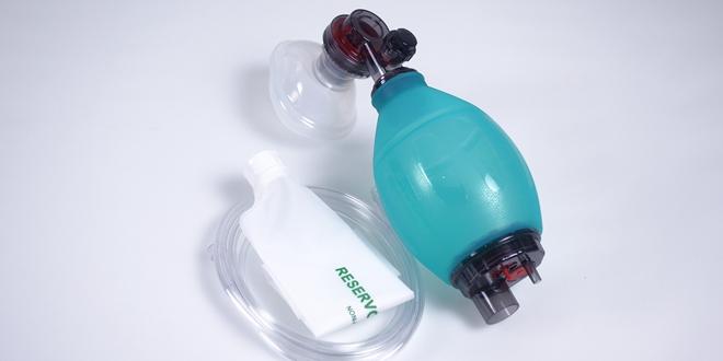 Manual Infant Ambu Bag Resuscitator Green