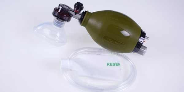 Infant Resuscitator Ambu Bag Dark Green